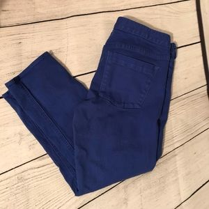 J. Crew cropped matchstick jeans
